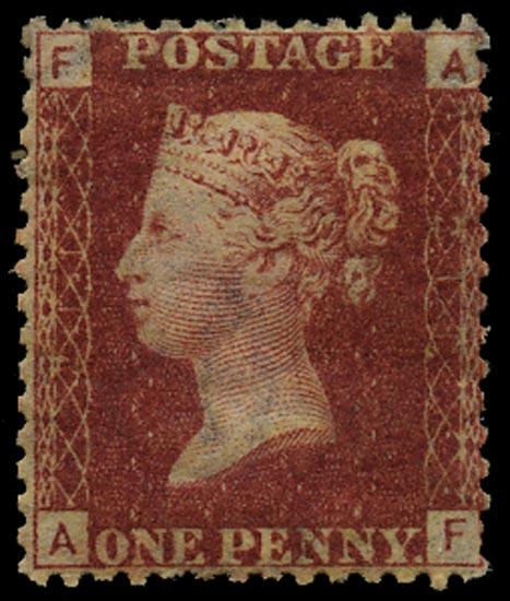 GB 1878  SG43 Pl.211 Mint Unused o.g. example (AF)