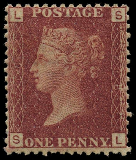 GB 1878  SG43 Pl.218 Mint Unused o.g. example (SL)