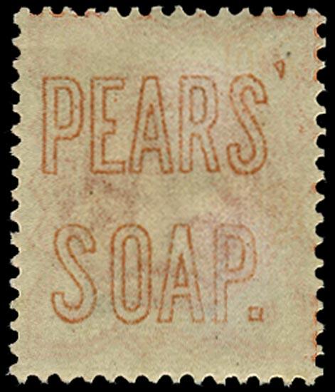 GB 1887  SG197var Mint
