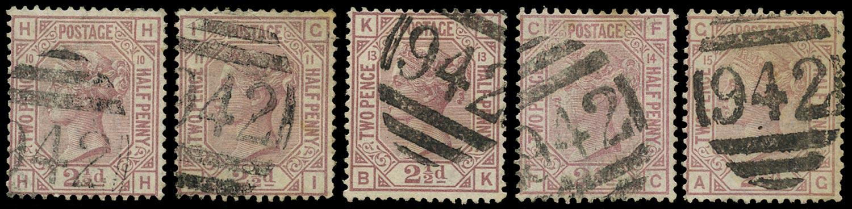 CYPRUS 1878  SGZ18 Cancel