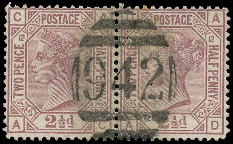 CYPRUS 1878  SGZ18 Pl.12 Cancel