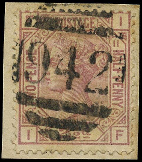 CYPRUS 1878  SGZ18 Pl.11 Cancel