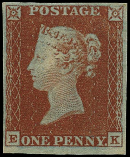 GB 1841  SG8 Pl.44 Mint unused o.g. example (EK)