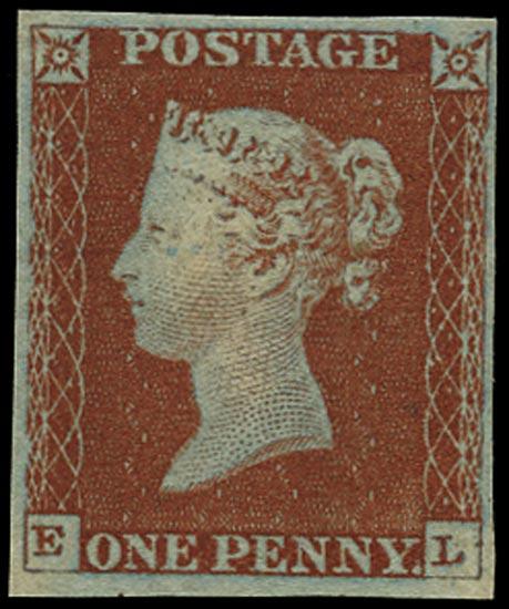 GB 1841  SG8 Pl.44 Mint unused o.g. example (EL)
