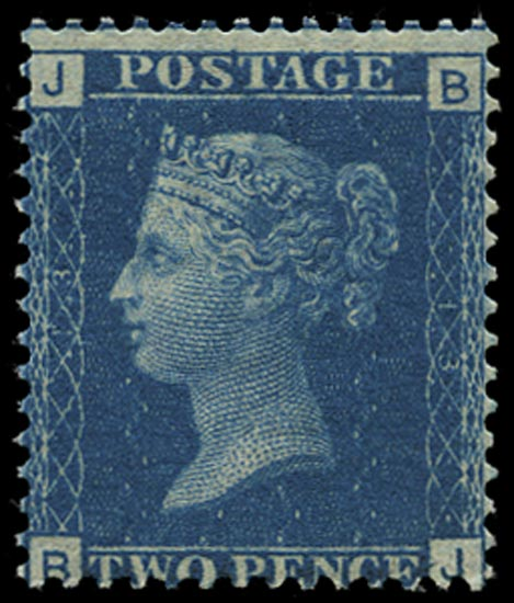 GB 1869  SG46 Pl.13 Mint unmounted o.g. example (BJ)