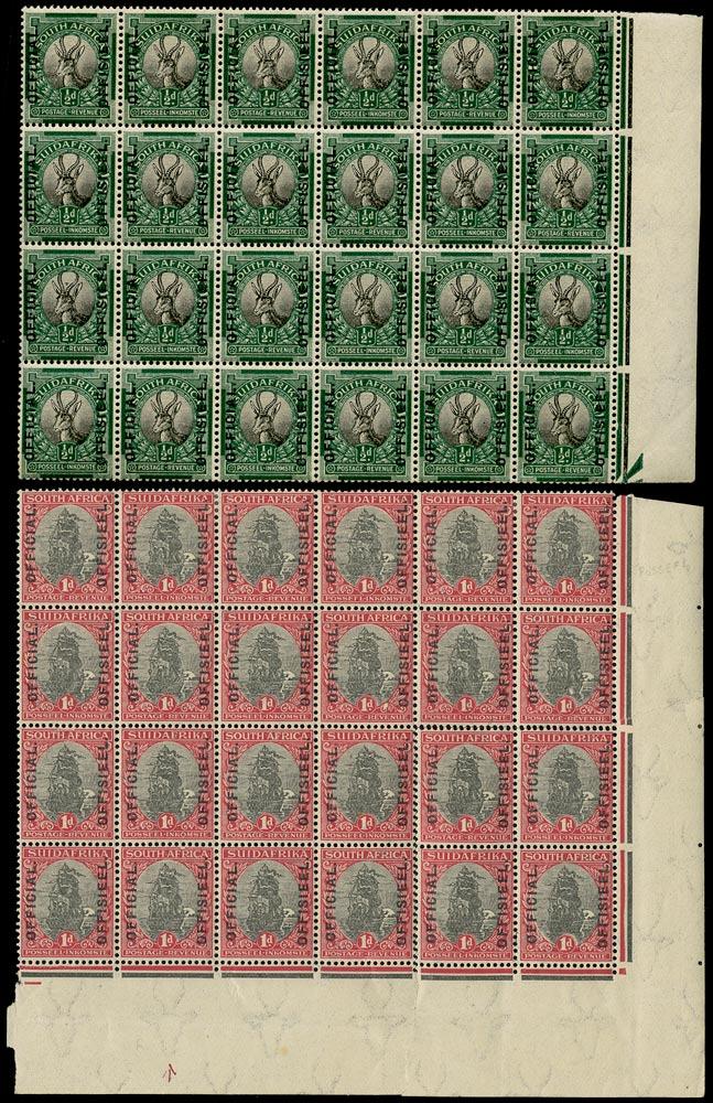 SOUTH AFRICA 1926  SGO2/3 Official