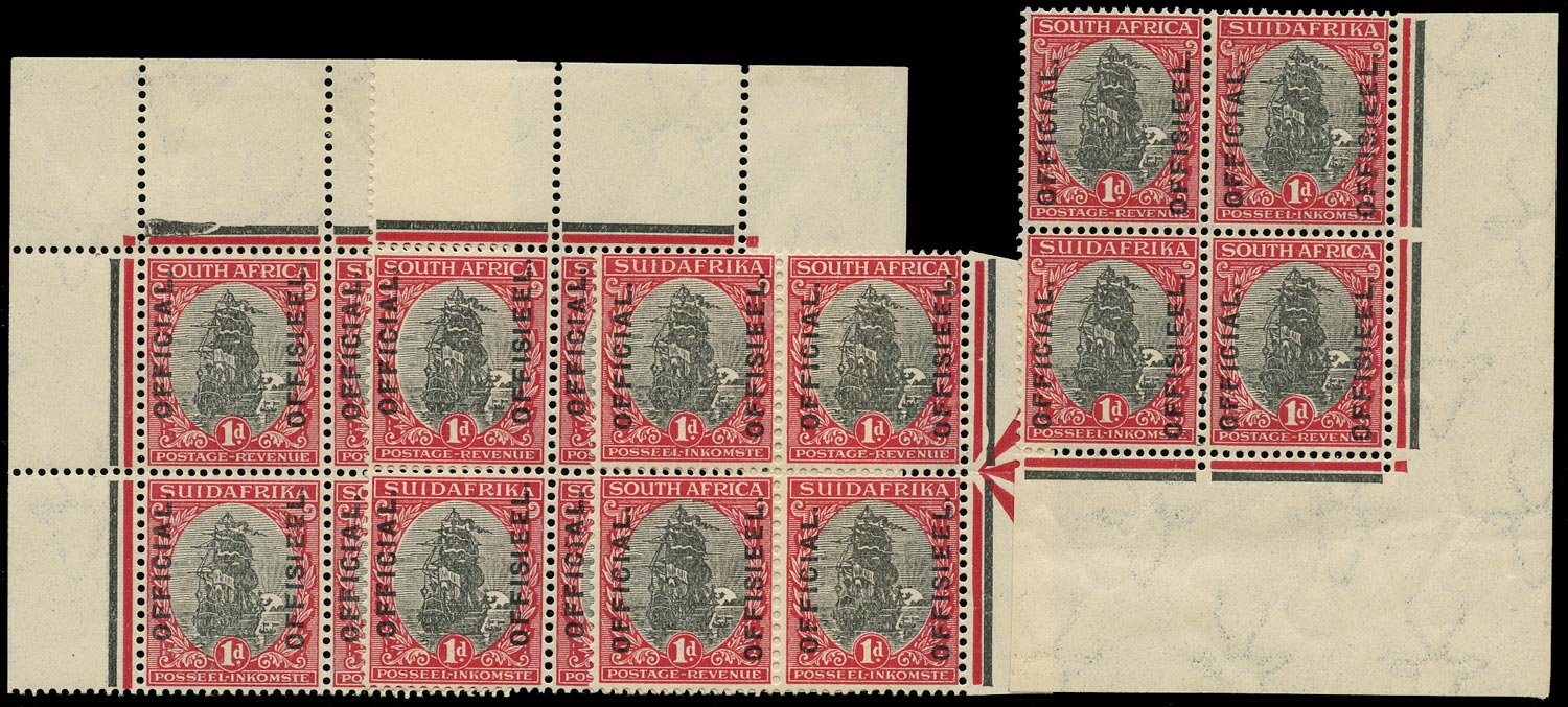 SOUTH AFRICA 1926  SGO3 Official