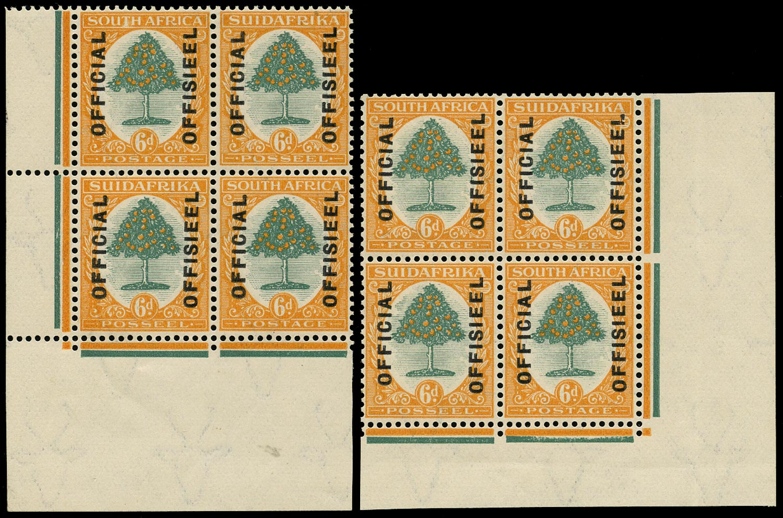 SOUTH AFRICA 1928  SGO6 Official
