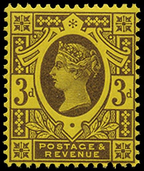GB 1890  SG204 Mint unused o.g. example