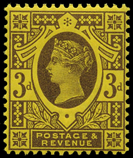 GB 1890  SG204 Mint unmounted o.g. example
