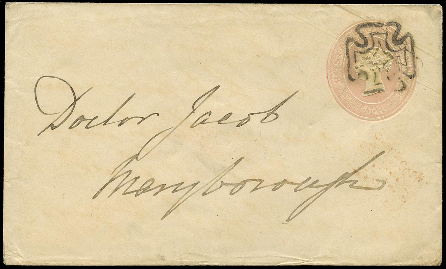 GB 1844  SGSE2 Postal Stationery - Dublin MC
