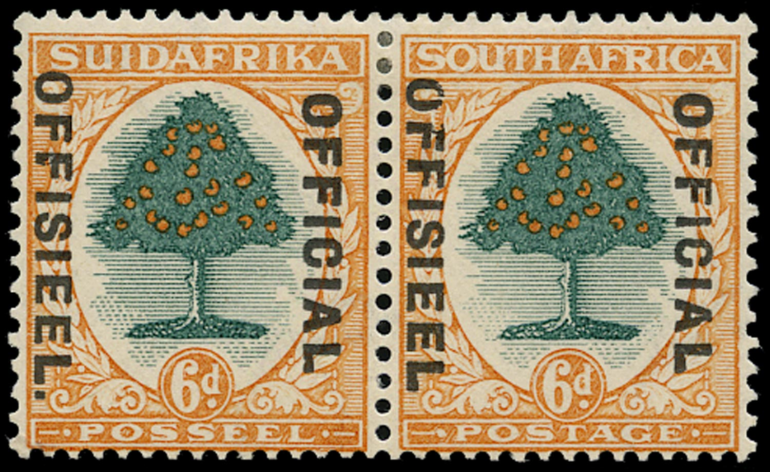 SOUTH AFRICA 1930  SGO16b Official
