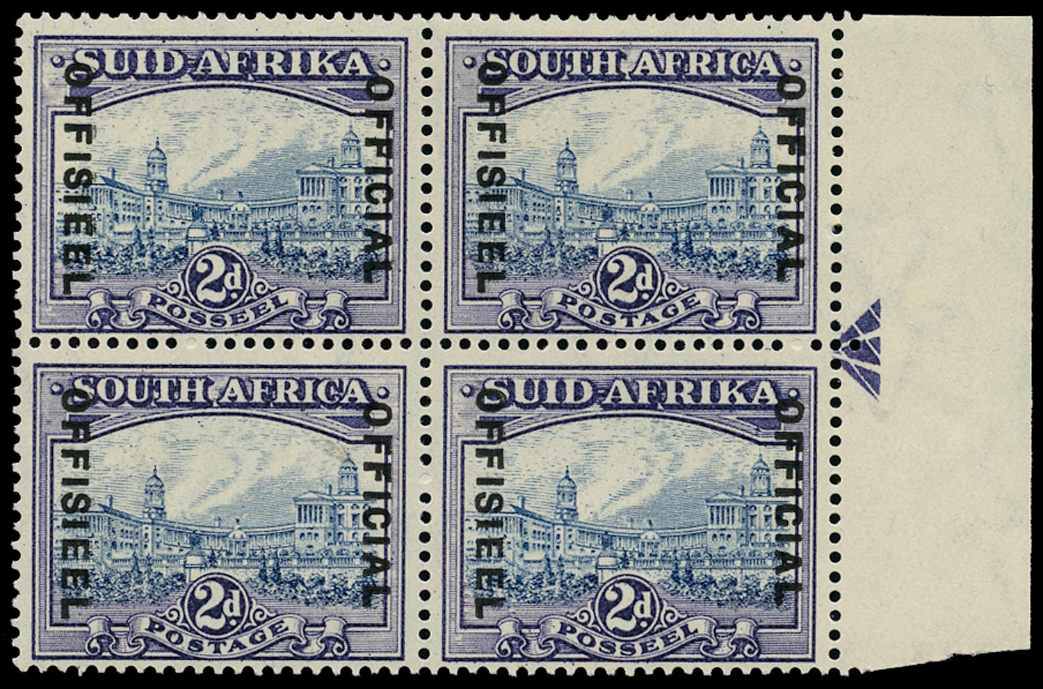 SOUTH AFRICA 1935  SGO23 Official