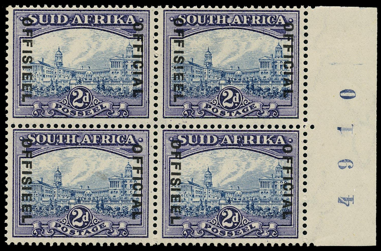 SOUTH AFRICA 1935  SGO23 Official