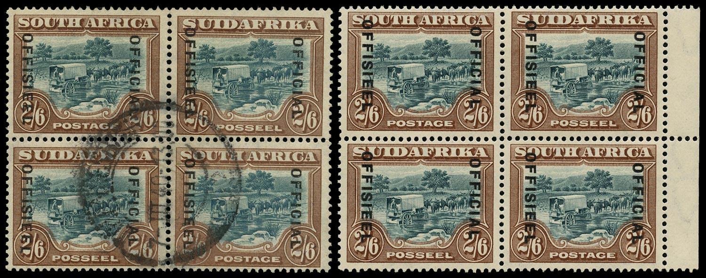 SOUTH AFRICA 1929  SGO11 var Official