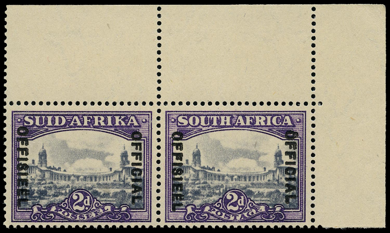 SOUTH AFRICA 1947  SGO36a Official