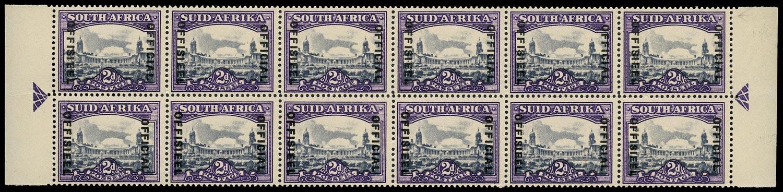 SOUTH AFRICA 1947  SGO36/a Official