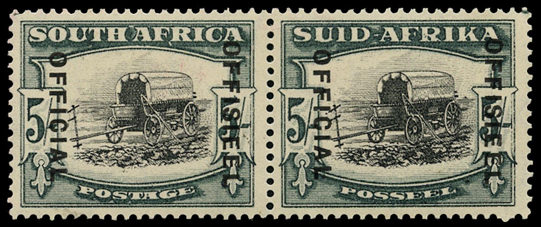 SOUTH AFRICA 1935  SGO28a Official