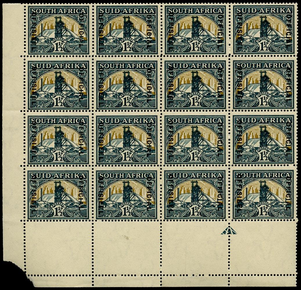 SOUTH AFRICA 1935  SGO22b Official