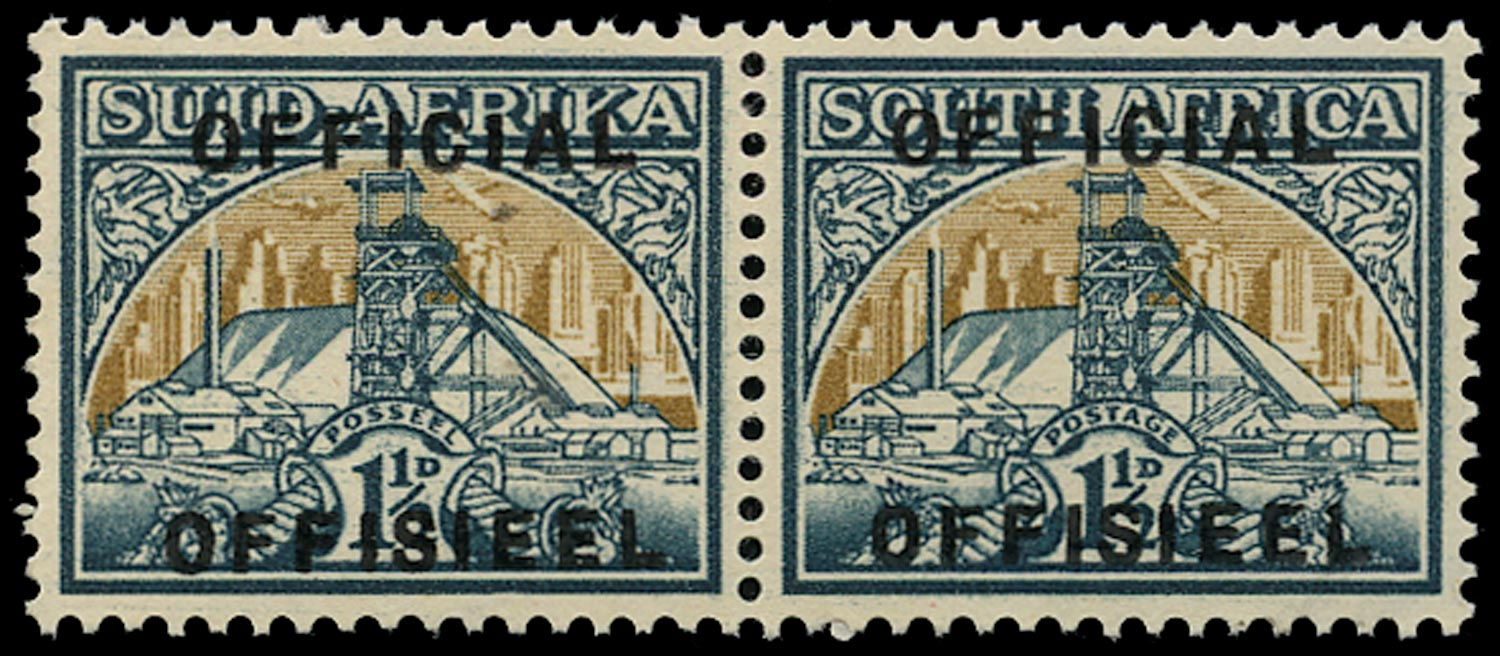 SOUTH AFRICA 1949  SGO34var Official