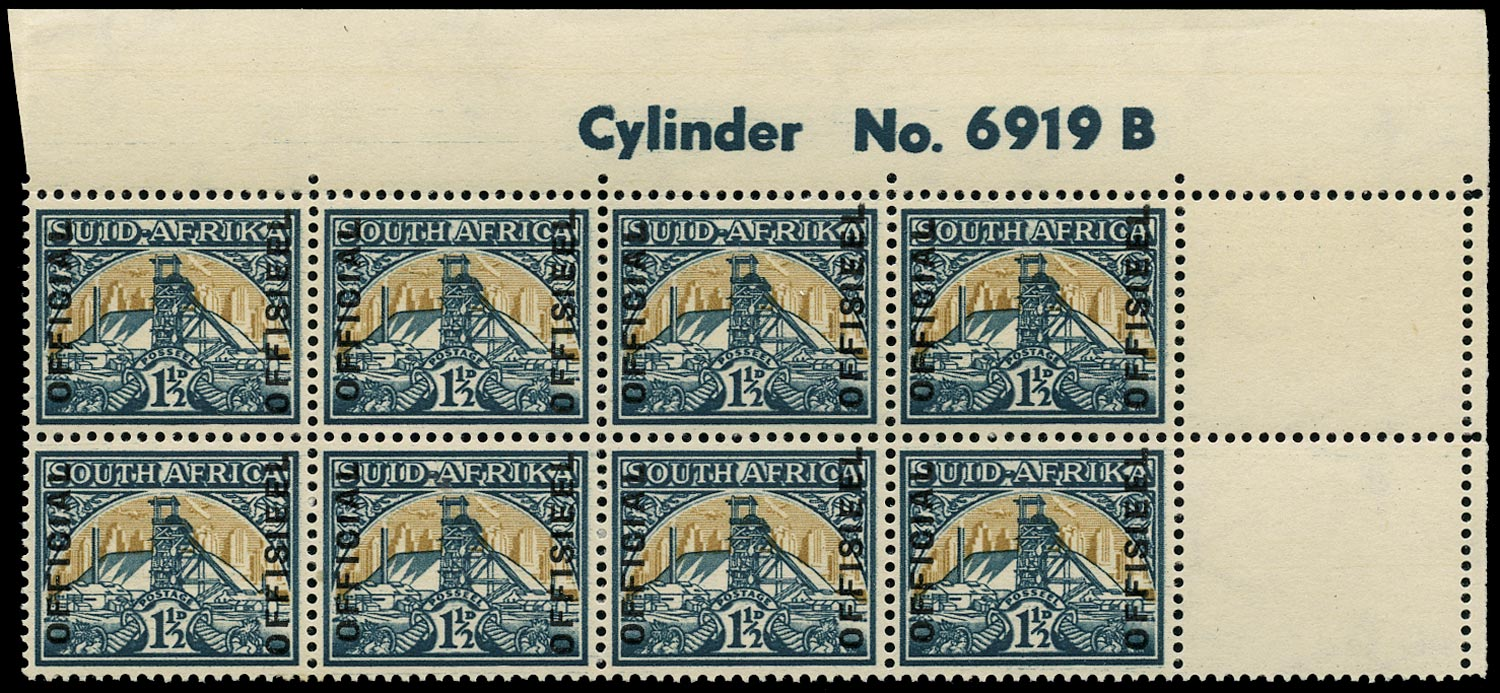 SOUTH AFRICA 1949  SGO34 Official