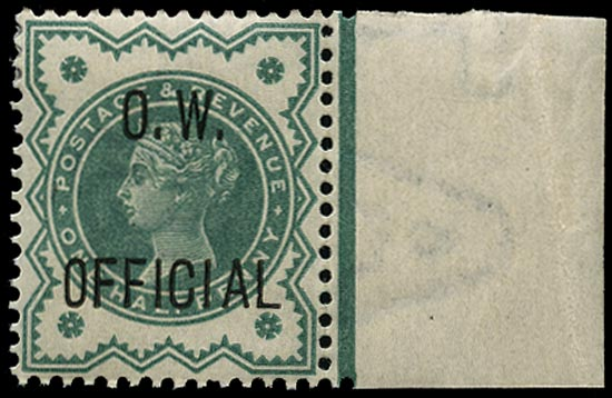 GB 1902  SGO32 Official Unused o.g.