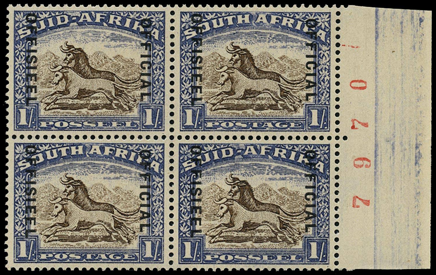 SOUTH AFRICA 1935  SGO25 Official
