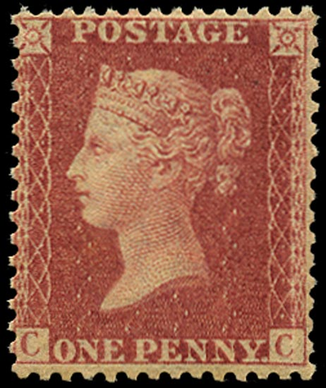 GB 1861  SG42 Pl.50 Mint unmounted o.g. example