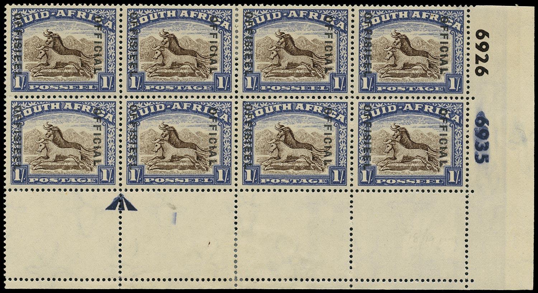 SOUTH AFRICA 1949  SGO38 Official