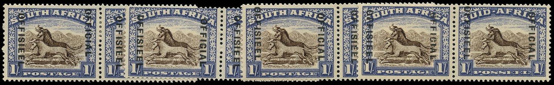 SOUTH AFRICA 1949  SGO38, var Official