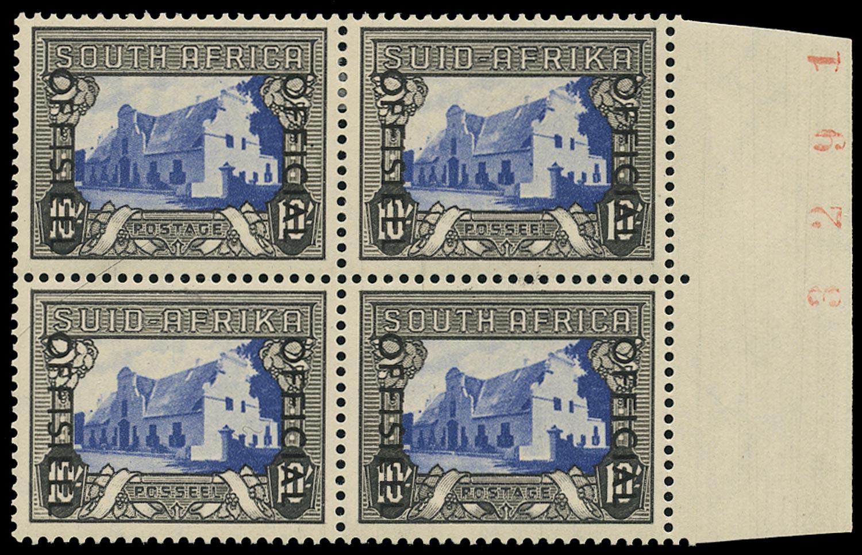SOUTH AFRICA 1950  SGO51 Official