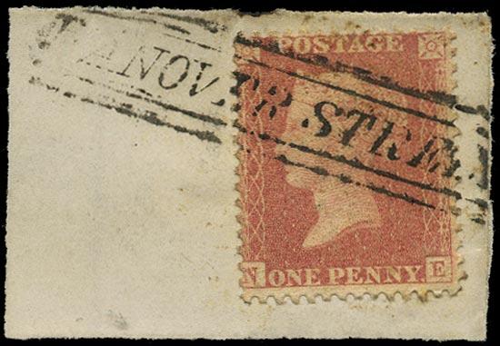 GB 1857  SG38 Pl.43 Used -