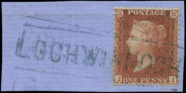 GB 1856  SG29 Pl.28 Used - Blue