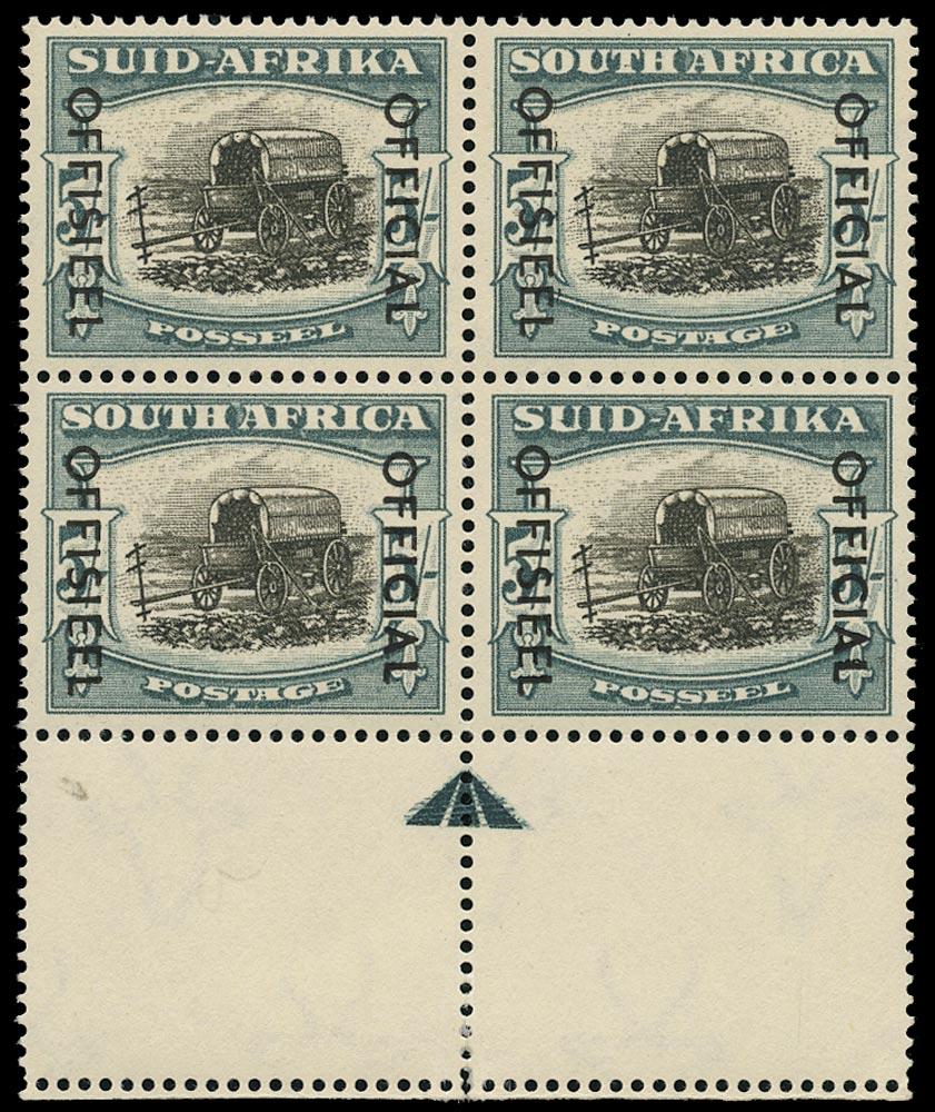 SOUTH AFRICA 1950  SGO50 Official