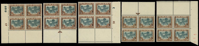 SOUTH AFRICA 1950  SGO48 Official
