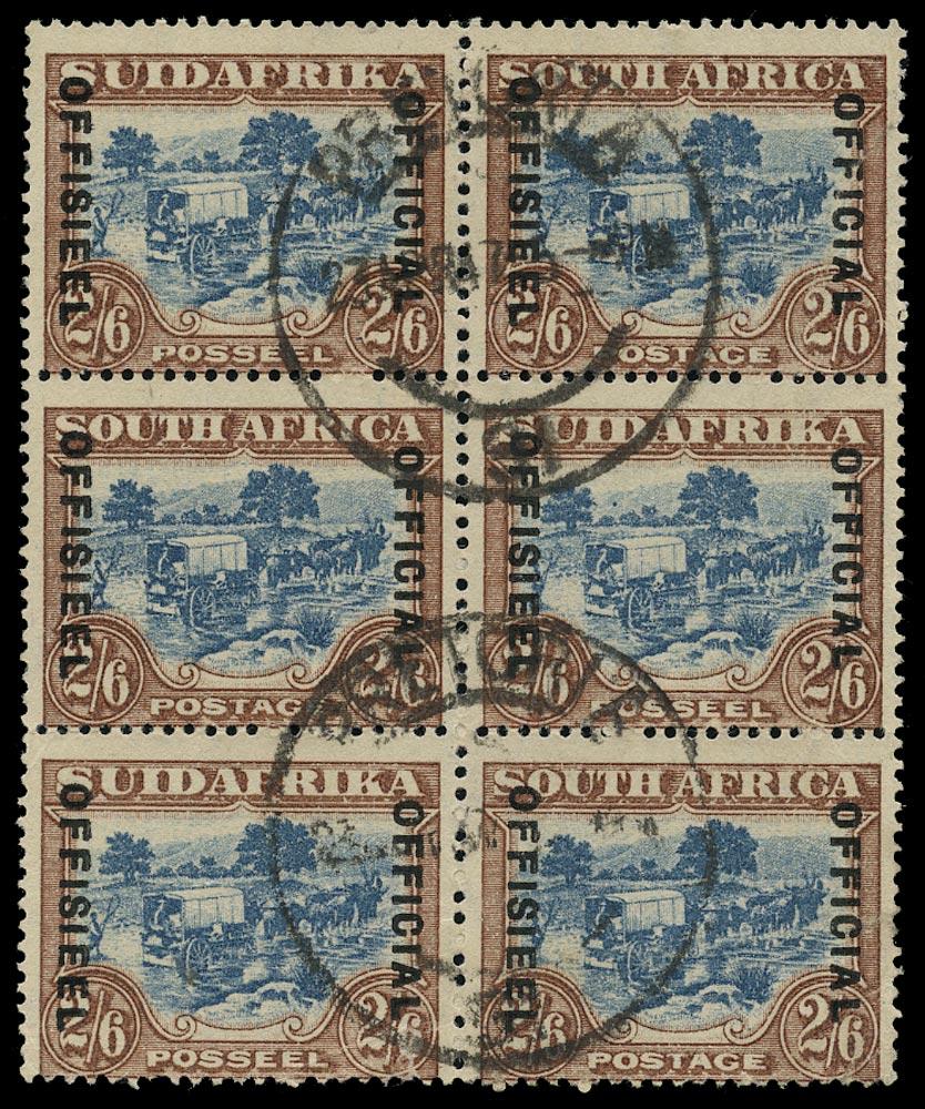SOUTH AFRICA 1930  SGO19 Official