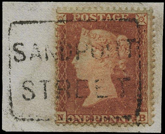 GB 1854  SG17 Pl.188 Used -