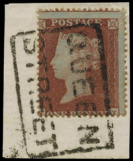 GB 1854  SG17 Used -