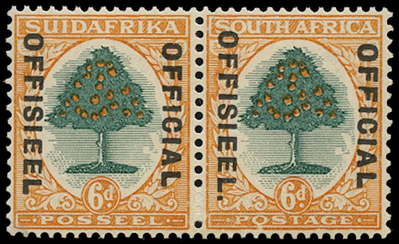 SOUTH AFRICA 1930  SGO16a Official