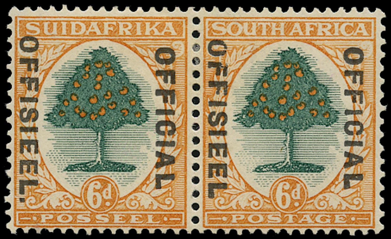 SOUTH AFRICA 1930  SGO16b Official