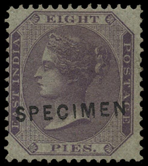 INDIA 1860  SG51 Specimen