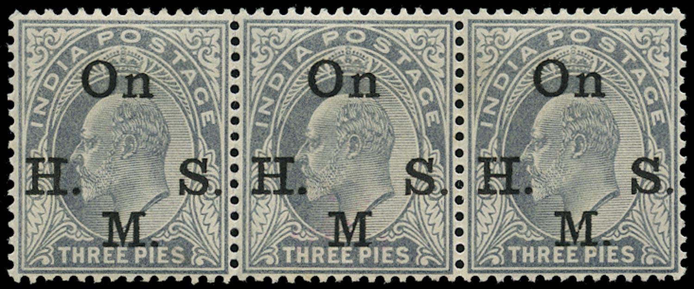 INDIA 1902  SGO55/a Official