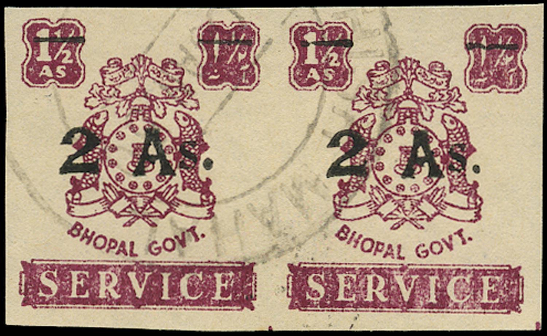 I.F.S. BHOPAL 1949  SGO356b Official