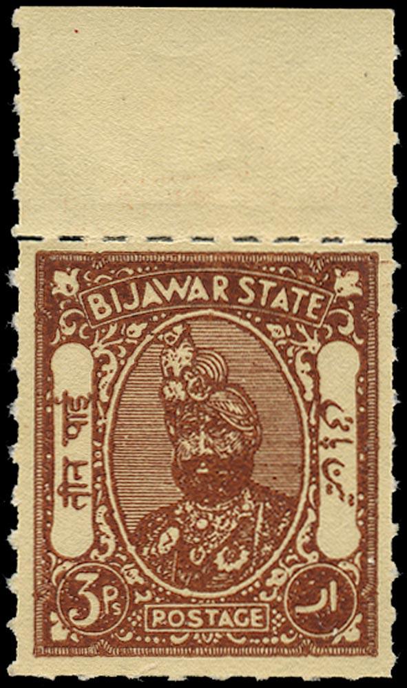 I.F.S. BIJAWAR 1935  SG6a Mint