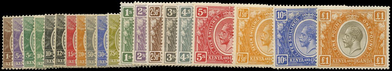 KUT 1922  SG76/95 Mint