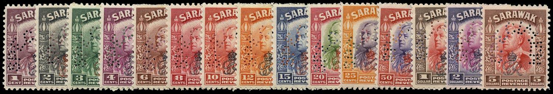 SARAWAK 1947  SG150s/164s Specimen