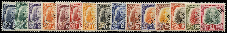 SARAWAK 1932  SG91s/105s Specimen