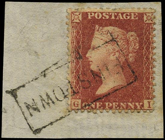 GB 1857  SG40 Pl.43 Used -