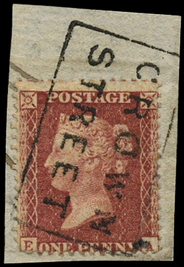 GB 1857  SG40 Pl.41 Used -