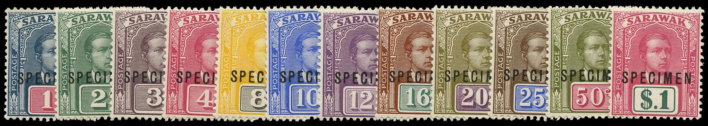 SARAWAK 1918  SG50s/61s Specimen